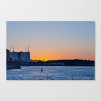 Downtown Disney Sunset II Canvas Print