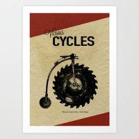 Vicious Cycles Art Print
