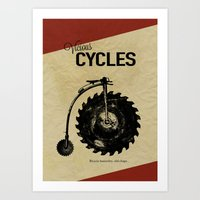 Vicious Cycles Art Print