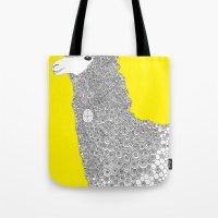 Yellow-Alpaca Tote Bag