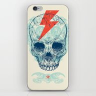 Skull Bolt iPhone & iPod Skin