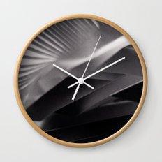 Paper Sculpture #7 Wall Clock