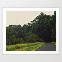 The Forest - Scene Three Art Print