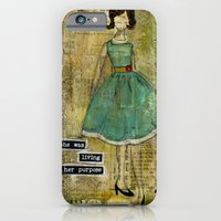 Living Her Purpose iPhone 6 Slim Case