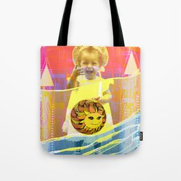 Tote Bag - She plays with the sun / PRINCESS 23-07-16 - Menchulica