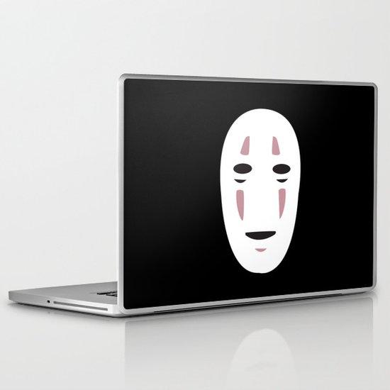 Spirited Away No Face Laptop & iPad Skin