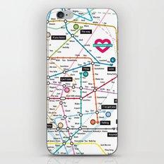Love Map iPhone & iPod Skin