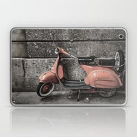 Vintage Moped Laptop & iPad Skin