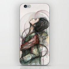 Beauty Illustration iPhone & iPod Skin
