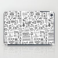 Triangle Doodles iPad Case