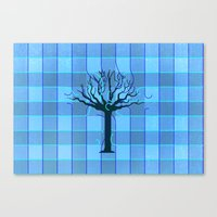 Audrey's Tree Canvas Print