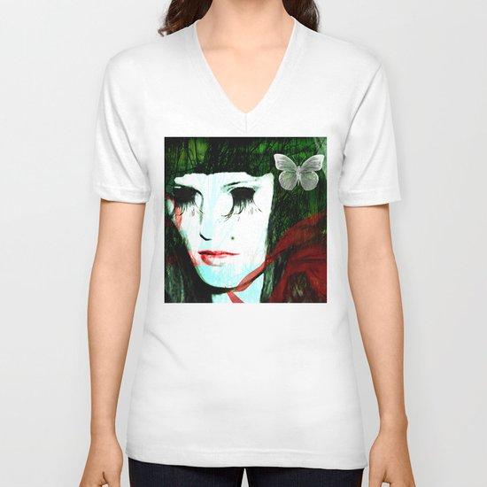 Clarice V-neck T-shirt