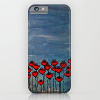 Sea Of Poppies. iPhone 6 Slim Case