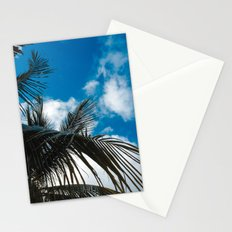 Sky behind the trees Stationery Cards