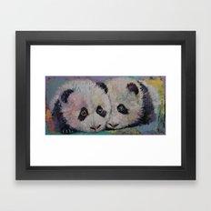 Baby Pandas Framed Art Print