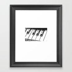 Piano Framed Art Print