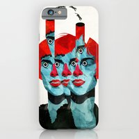 iPhone & iPod Case featuring The cats in my head by Alvaro Tapia Hidalgo