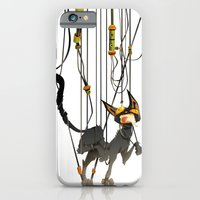 """iPhone & iPod Case featuring Lili B. """"Entangled cat"""" by Gate's Labofakto"""