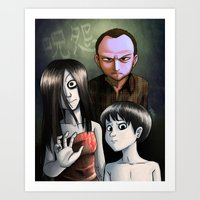 Japanese Family Portrait… Art Print