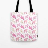 Animal Cookies - in Multi Tote Bag
