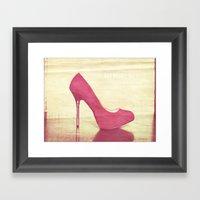 Get high Framed Art Print