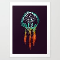 Dream Catcher (the Rusti… Art Print