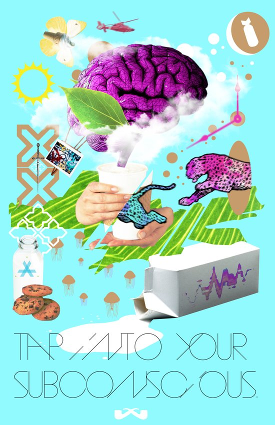 Tap into your subconscious. Canvas Print