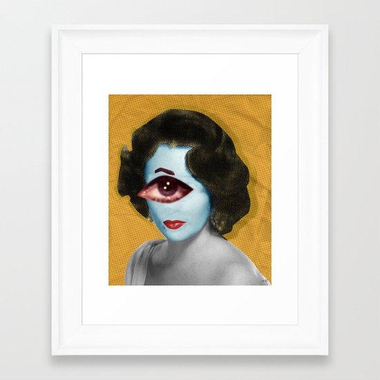 LizT Mix Collage 2 Framed Art Print
