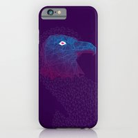 iPhone & iPod Case featuring Titanium eagle by TheCore