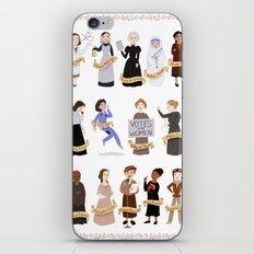 Women In History iPhone & iPod Skin