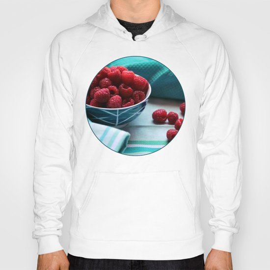 Ruby Delicious - Raspberry Still Life Hoody
