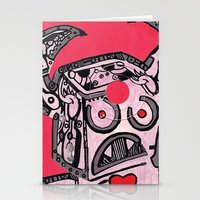 Barry Hole in The Head Stationery Cards