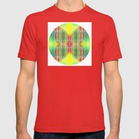 Mod Squad Mens Fitted Tee Red SMALL