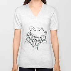 Poetic Bear Unisex V-Neck