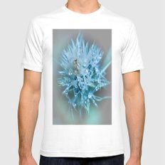 blue faery wand Mens Fitted Tee White SMALL