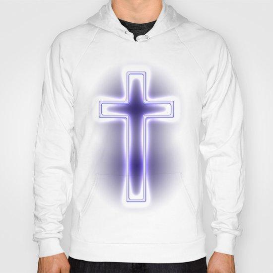 Metallic Cross Hoody