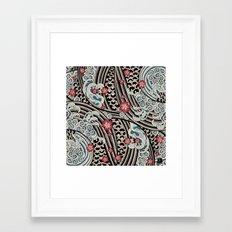 Waves of tradition Framed Art Print