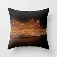 Budapest Night - JUSTART… Throw Pillow