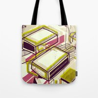 Matchbox Tote Bag