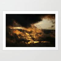 Gloomy Sky 0001 Art Print