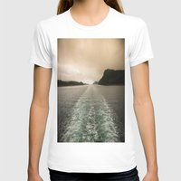 Night Or Day? Womens Fitted Tee White SMALL