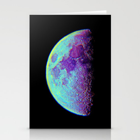 Moon Stationery Card