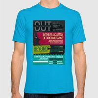 Invictus Mens Fitted Tee Teal SMALL