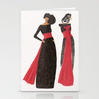 Gala Girl Stationery Cards