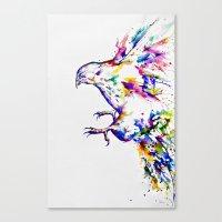 Descent Canvas Print