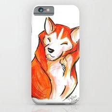 Brush Breeds-Akita iPhone 6 Slim Case
