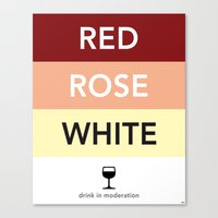 French Wines Bordeaux Bo… Canvas Print