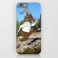 Baphomet's sixth failed attempt over a creek in Yosemite, which resulted in him focusing his board. iPhone 6 Slim Case