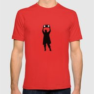 Say Anything Mens Fitted Tee Red SMALL