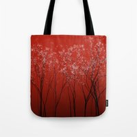 Trees redwine Tote Bag